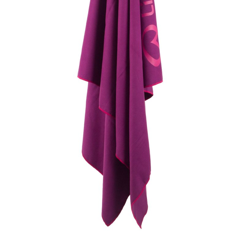 Softfibre Lite Travel Towel hanging - Purple