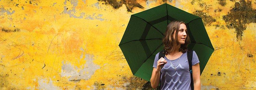 Umbrellas Banner
