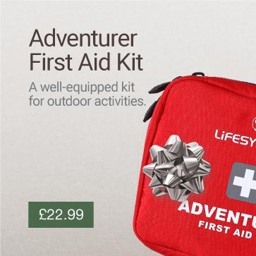 Adventurer First Aid Kit Christmas Gift Idea Banner