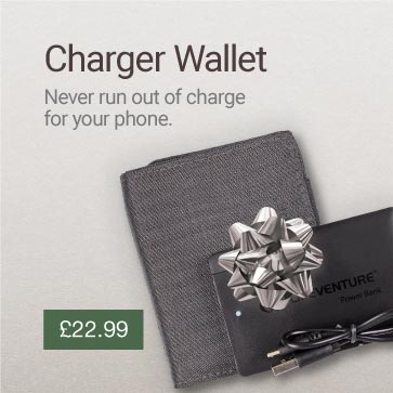 RFiD Charging Wallet Christmas Gift Idea Banner
