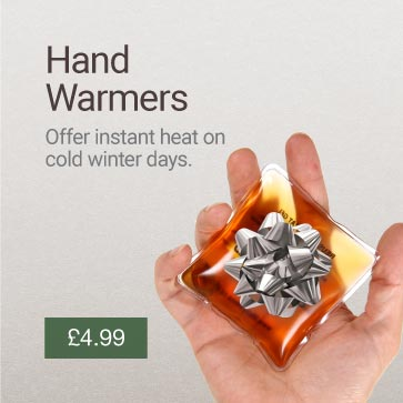 Reusable Hand Warmers Christmas Gift Idea Banner