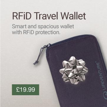 RFiD Travel Wallet Christmas Gift Idea Banner