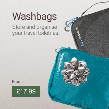 Travel Wash Bags Christmas Gift Idea Banner